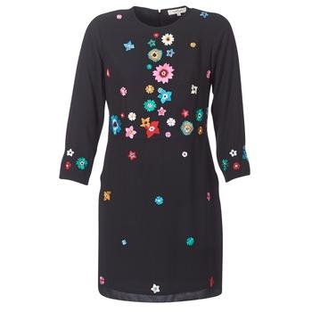 Υφασμάτινα Γυναίκα Κοντά Φορέματα Derhy BASTILLE Black