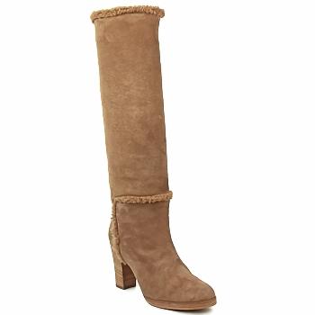 Παπούτσια Γυναίκα Μπότες για την πόλη Veronique Branquinho MERINOS Brown