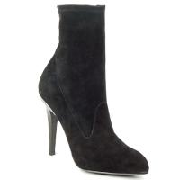 Παπούτσια Γυναίκα Μποτίνια Michael Kors STRETCH LB Black