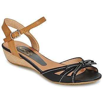 Παπούτσια Γυναίκα Σανδάλια / Πέδιλα Spot on  ΜΑΥΡΟ