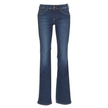 Υφασμάτινα Γυναίκα Τζιν καμπάνα Pepe jeans PIMLICO Ca0 / Μπλέ / Brut