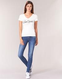 Υφασμάτινα Γυναίκα Skinny jeans Pepe jeans SOHO Z63 / Μπλέ / Medium