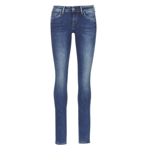 Υφασμάτινα Γυναίκα Skinny Τζιν  Pepe jeans SOHO Z63 / μπλέ / MEDIUM