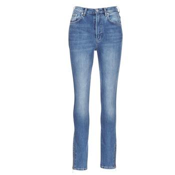Υφασμάτινα Γυναίκα Skinny Τζιν  Pepe jeans GLADIS Ga7 / Μπλέ /  clair