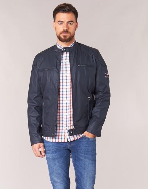 Υφασμάτινα Άνδρας Μπουφάν Pepe jeans RACER Marine