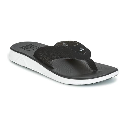 Παπούτσια Άνδρας Σαγιονάρες Reef REEF ROVER Black / άσπρο