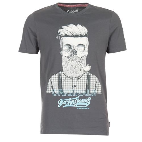 Υφασμάτινα Άνδρας T-shirt με κοντά μανίκια Jack & Jones CRIPTIC ORIGINALS Grey