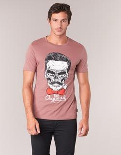 Υφασμάτινα Άνδρας T-shirt με κοντά μανίκια Jack & Jones CRIPTIC ORIGINALS Ροζ