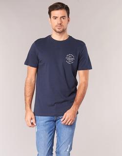 Υφασμάτινα Άνδρας T-shirt με κοντά μανίκια Jack & Jones ORGANIC ORIGINALS Marine