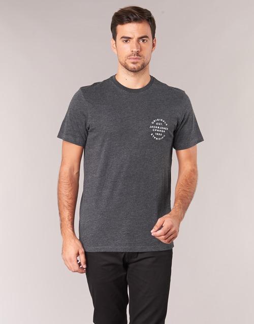 Υφασμάτινα Άνδρας T-shirt με κοντά μανίκια Jack & Jones ORGANIC ORIGINALS Grey