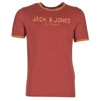 Υφασμάτινα Άνδρας T-shirt με κοντά μανίκια Jack & Jones RETRO ORIGINALS Red