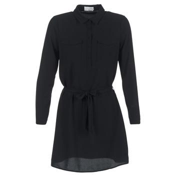 Υφασμάτινα Γυναίκα Κοντά Φορέματα Casual Attitude HONIRE Black