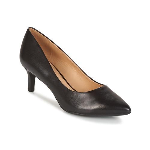 Παπούτσια Γυναίκα Γόβες Geox D ELINA C - CAPRA NAPPATA Black
