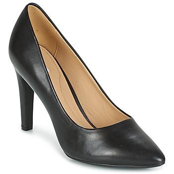 Παπούτσια Γυναίκα Γόβες Geox D CAROLINE C - NAPPA Black