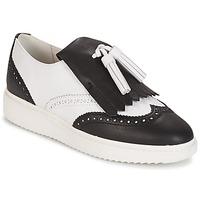 Παπούτσια Γυναίκα Μοκασσίνια Geox D THYMAR C - NAPPA Ασπρό / ΜΑΥΡΟ