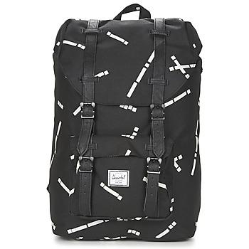 Τσάντες Σακίδια πλάτης Herschel LITTLE AMERICA Black