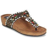 Παπούτσια Γυναίκα Σανδάλια / Πέδιλα Metamorf'Ose ZABUSTE Black / Multicolore