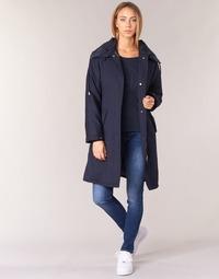 Υφασμάτινα Γυναίκα Καπαρτίνες Armani jeans MERCHA Marine