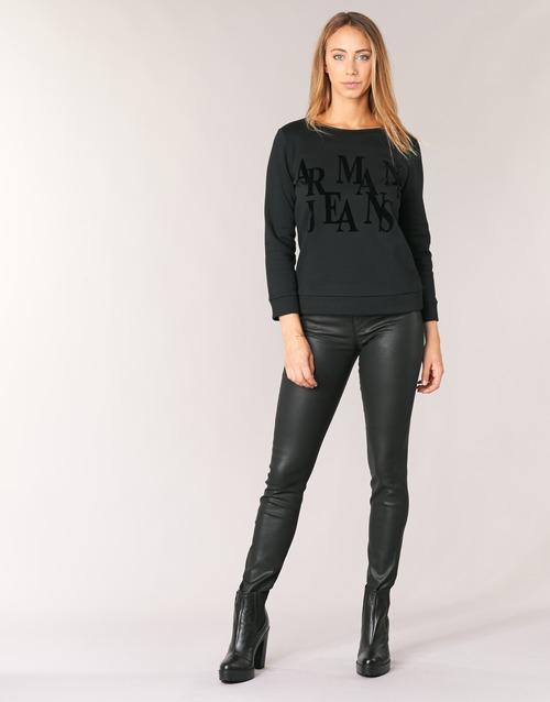 Υφασμάτινα Γυναίκα Skinny jeans Armani jeans BABEZ Black