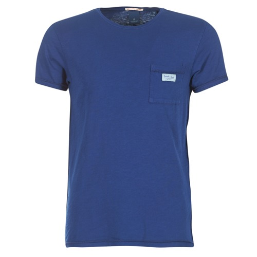 Υφασμάτινα Άνδρας T-shirt με κοντά μανίκια Scotch & Soda JURISCU MARINE