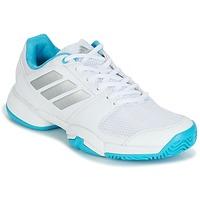 Παπούτσια Τρέξιμο adidas Performance Barricade Club xJ άσπρο / μπλέ