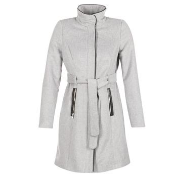 Υφασμάτινα Γυναίκα Παλτό Vero Moda PRATO Grey