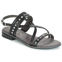 Παπούτσια Γυναίκα Σανδάλια / Πέδιλα Tamaris  Μαυρο