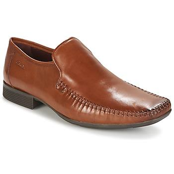 Παπούτσια Άνδρας Μοκασσίνια Clarks Ferro Step TAN / Leather