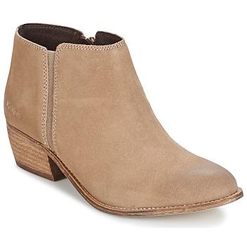 Παπούτσια Γυναίκα Μποτίνια Kickers BOOTY Beige