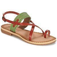 Παπούτσια Γυναίκα Σανδάλια / Πέδιλα Kickers SAFAL CAMEL / Green
