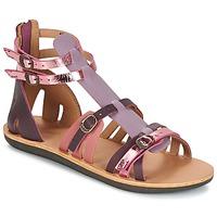 Παπούτσια Γυναίκα Σανδάλια / Πέδιλα Kickers SPARTIATEN Violet / MULTICO