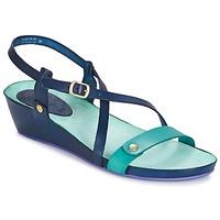 Παπούτσια Γυναίκα Σανδάλια / Πέδιλα Kickers TASTE MARINE / μπλέ / Lagoon