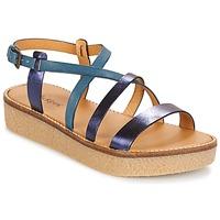 Παπούτσια Γυναίκα Σανδάλια / Πέδιλα Kickers VALENTINA Μπλέ
