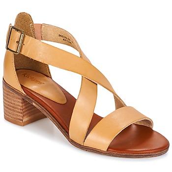 Παπούτσια Γυναίκα Σανδάλια / Πέδιλα Kickers VOLTAX Beige