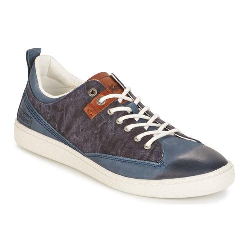 Παπούτσια Άνδρας Χαμηλά Sneakers Kickers SANTA FE μπλέ
