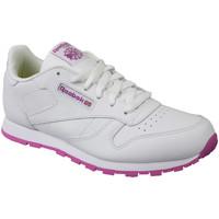 Παπούτσια Παιδί Χαμηλά Sneakers Reebok Sport Classic Leather Blanc