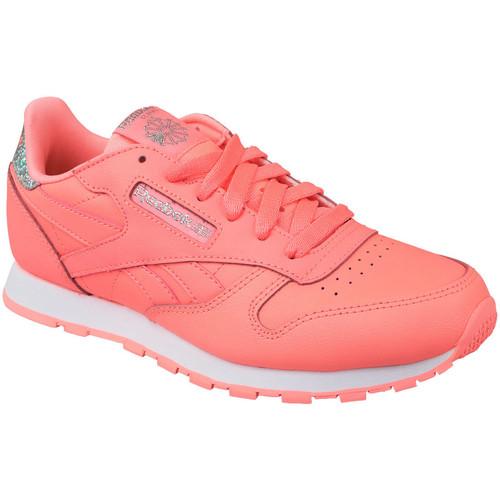 Παπούτσια Παιδί Χαμηλά Sneakers Reebok Sport Classic Leather Rose