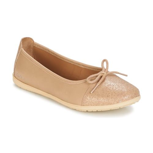 Παπούτσια Κορίτσι Μπαλαρίνες Kickers EDANA Beige