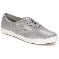 Παπούτσια Γυναίκα Χαμηλά Sneakers Keds CH METALLIC CANVAS Ασημι