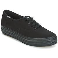 Παπούτσια Γυναίκα Χαμηλά Sneakers Keds TRIPLE Black