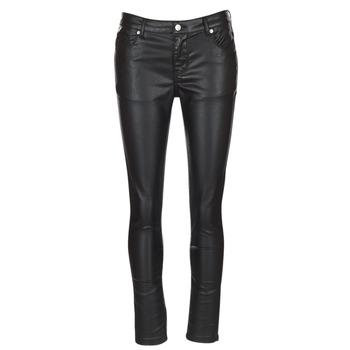 Υφασμάτινα Γυναίκα Παντελόνια Πεντάτσεπα Yurban HENDUI Black