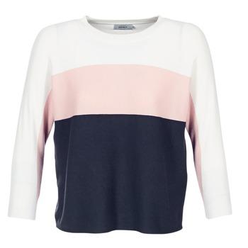 Υφασμάτινα Γυναίκα Πουλόβερ Only REGITZE άσπρο / ροζ / MARINE