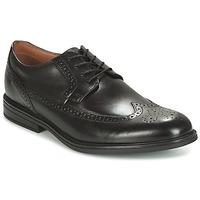 Παπούτσια Άνδρας Derby Clarks Black Leather Black