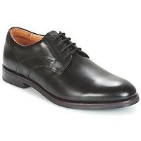 Παπούτσια Άνδρας Derby Clarks BLACK LEATHER Black