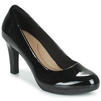 Παπούτσια Γυναίκα Γόβες Clarks ADRIEL VIOLA Μαυρο / Pat