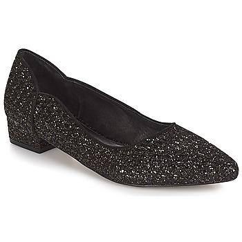 Παπούτσια Γυναίκα Μπαλαρίνες Ravel  Μαυρο-glitter