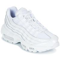 Παπούτσια Γυναίκα Χαμηλά Sneakers Nike AIR MAX 95 W Άσπρο