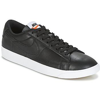 Παπούτσια Γυναίκα Χαμηλά Sneakers Nike BLAZER LOW LEATHER W Black