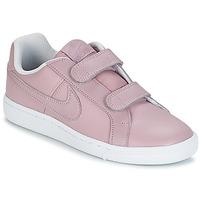 Παπούτσια Κορίτσι Χαμηλά Sneakers Nike COURT ROYALE CADET Ροζ