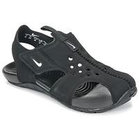 Παπούτσια Αγόρι Σανδάλια / Πέδιλα Nike SUNRAY PROTECT 2 TODDLER Black / Άσπρο